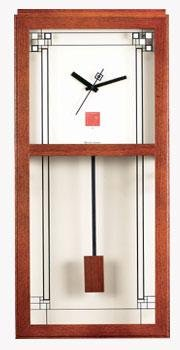 Bulova C3320 FLLW - Gilmore Wall Mantel Clock