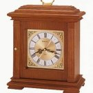 Bulova B1883 Francesca Mantel Clock Honey Maple