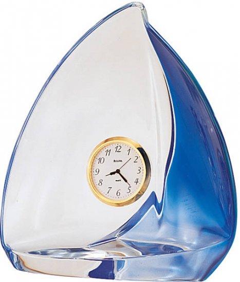 Bulova Sailboat Table Clock B9833