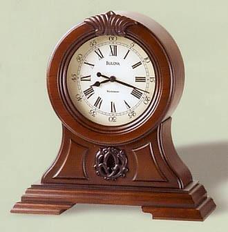Bulova Marlborough Walnut Mantel Clock B1998