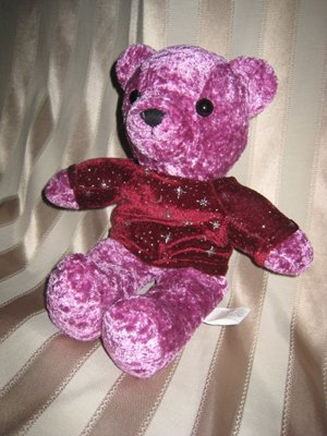 Shiny Purple Bear