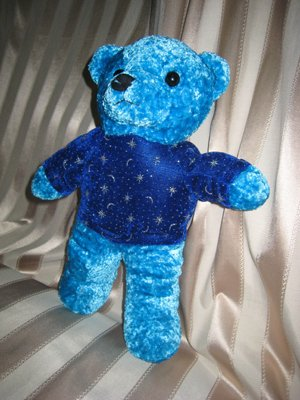 Shiny Blue Bear