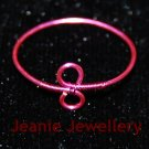 Pink Infinity Ring