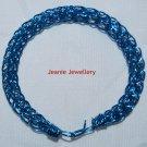 Blue Viking knitting Bracelet