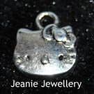 Kitty Cat Tibetan Silver Charm