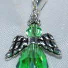 Light Green Angel Clip on Charm