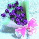 33 purple roses