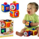 Fisher-price of square blocks baby educational toys children blocks