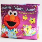 softplay Sesame Street three-dimensional cloth book Aimo Good night twinkle elmo children cloth book