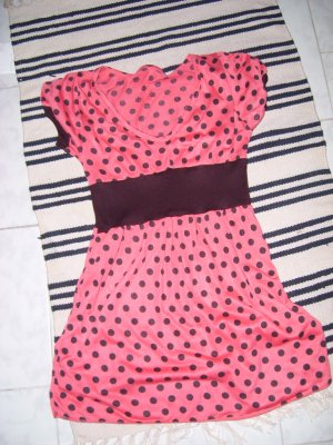 Red Dotted Tunic
