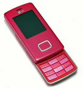"LG KG800 - ""Pink Chocolate"" MP3 Mobile Cellular Phone (Unlocked)"