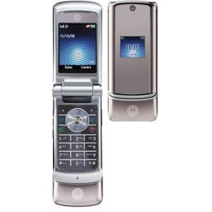 "Motorola KRZR K1 ""Silver"" Mobile Cellular Phone (Unlocked)"