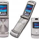 "Motorola V3 Razr ""Silver"" Mobile Cellular Phone (Unlocked)"