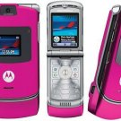 "Motorola V3 Razr ""Pink"" Mobile Cellular Phone (Unlocked)"