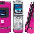 "Motorola V3 Razr ""Pink"" Mobile Cellular Phone (Unlocked)"