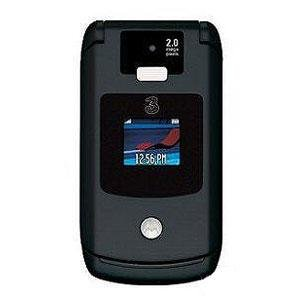 "Motorola Razr V3x ""Black"" Mobile Cellular Phone (Unlocked)"