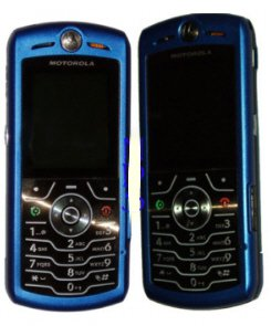 "Motorola SLVR L7 ""Metallic Blue"" Mobile Cellular Phone (Unlocked)"