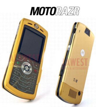 "Motorola SLVR L7 ""Gold"" Mobile Cellular Phone (Unlocked)"
