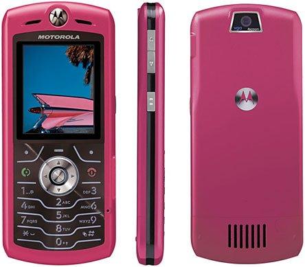 "Motorola SLVR L7 ""Pink"" Mobile Cellular Phone (Unlocked)"