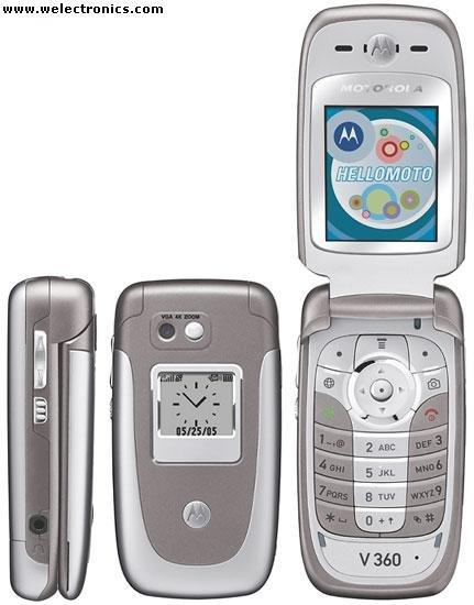 Motorola V360 Mobile Cellular Phone (Unlocked)