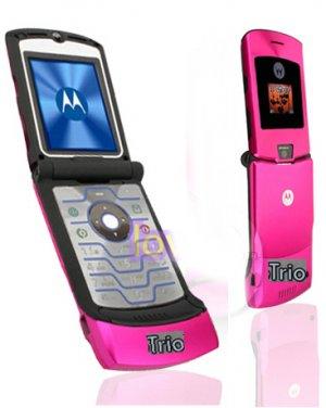 "Motorola Razr V3i ""Pink"" Mobile Cellular Phone (Unlocked)"