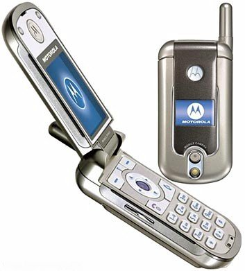 Motorola V878 Mobile Cellular Phone (Unlocked)