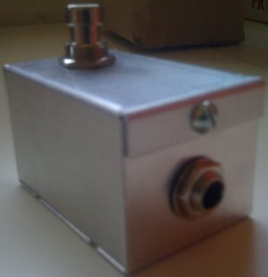 Audio Ecstasy Non-latching Tap Tempo Switch *ALL METAL*