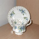 "Royal Albert - """"Forget Me Not"""" - Cup and Saucer"