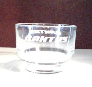 QANTAS - Cordial Glass