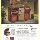 1940&#39;s ADMIRAL RADIO Vintage Print Ad