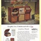 1940's ADMIRAL RADIO Vintage Print Ad