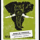 1957 BANK OF AMERICA Vintage AFRICA Print Ad