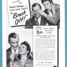 1947 POLIDENT Vintage Print Ad