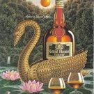 1987 GRAND MARNIER Liqueur Vintage Print Ad