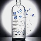 ABSOLUT CHICAGO 1990 Vodka Print Ad