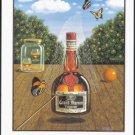 1990 GRAND MARNIER Liqueur Magazine Print Ad