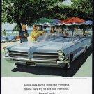 1965 PONTIAC Auto Vintage Print Ad