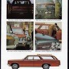 1965 PONTIAC Tempest Wagon Vintage Auto Print Ad