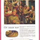 1944 PENNSYLVANIA RAILROAD WWII Era Vintage Ad