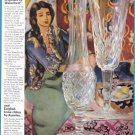 1975 WATERFORD CRYSTAL Vintage Print Ad