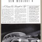 1941 MERCURY Vintage Auto Print Ad