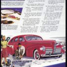 1940 NASH Vintage Auto Print Ad