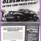 1939 OLDSMOBILE Vintage Auto Print Ad