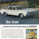 1964 OLDSMOBILE Vista Cruiser Auto Vintage Print Ad