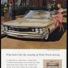 1960 PONTIAC Bonneville Auto Vintage Print Ad