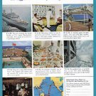 1964 P&O Orient Cruise Line Vintage Print Ad