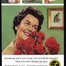 1960 FTD Florists Vintage Print Ad