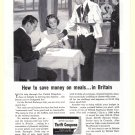 1960 British Railways Vintage Print Ad