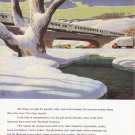 1950 BUDD Transportation Vintage Print Ad