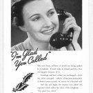 1938 BELL Telephone Vintage Print Ad
